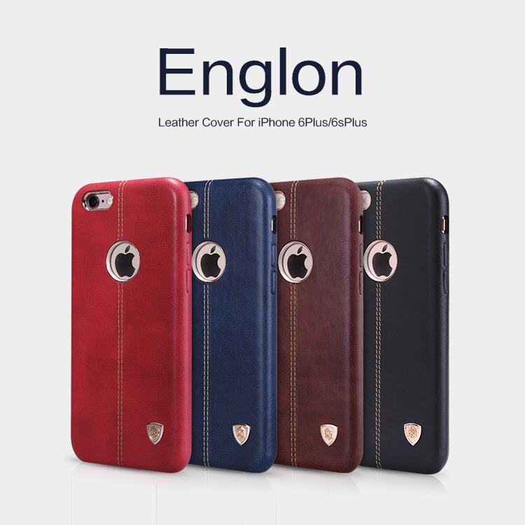 เคสมือถือ Apple iPhone 6 Plus/6s Plus รุ่น Englon Leather Case