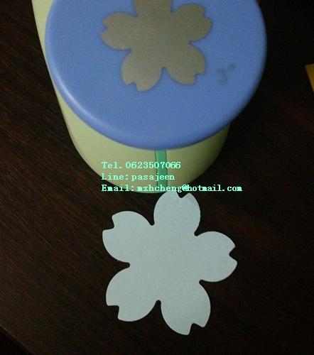 Punch เจาะกระดาษ 1'' (2.5cm) รูปดอกซากุระ