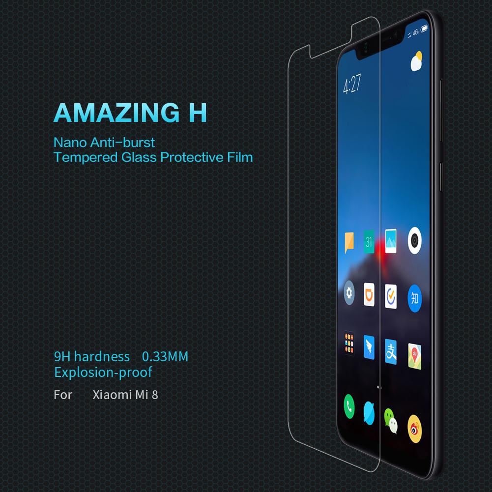 ฟิล์มกระจกนิรภัย Xiaomi Mi8