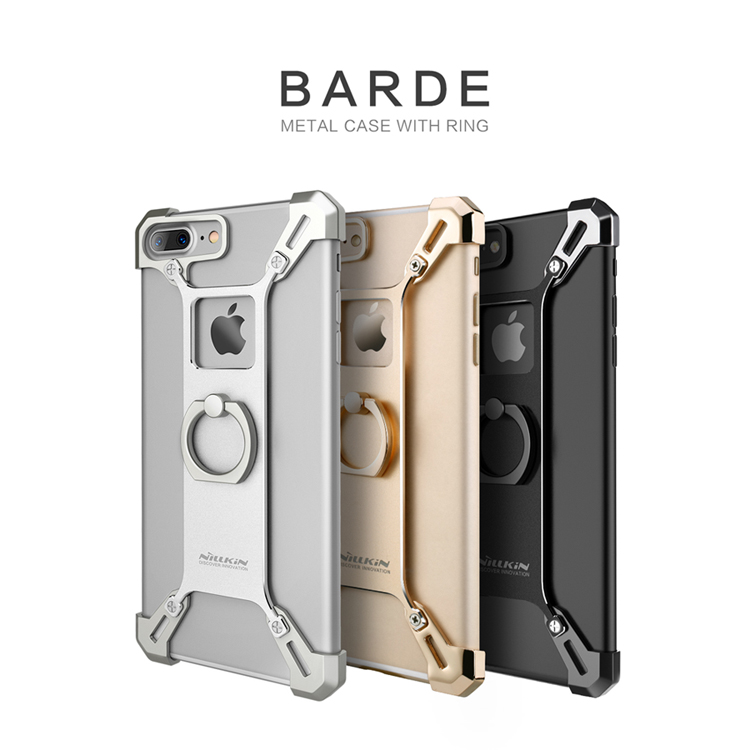 เคสมือถือ Apple iPhone 7 Plus รุ่น Barde Metal Case With Ring