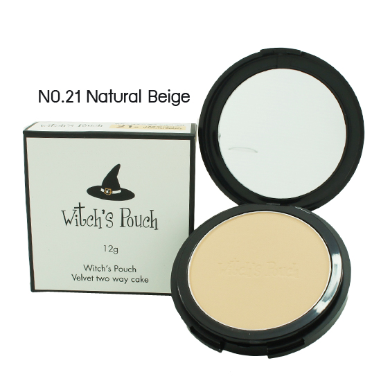 Witch's Pouch Velvet Two Way Cake 12g. [ No.23:Natural Beige ]