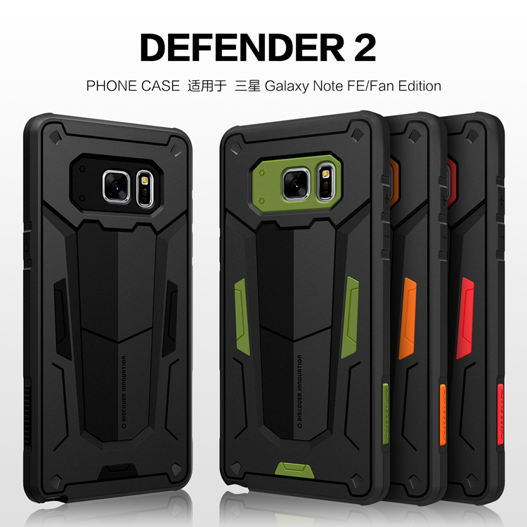 เคสมือถือ Samsung Galaxy Note FE (Fan Edition) รุ่น Defender II Case