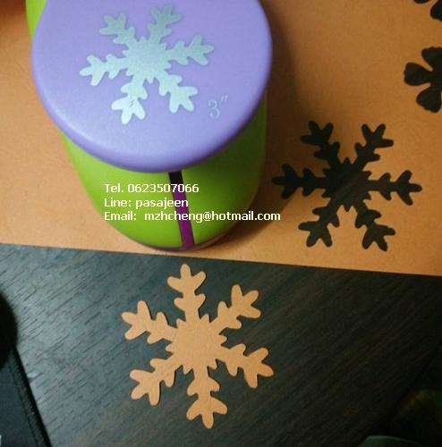 Punch เจาะกระดาษ 1''(2.6cm) เกล็ดหิมะ