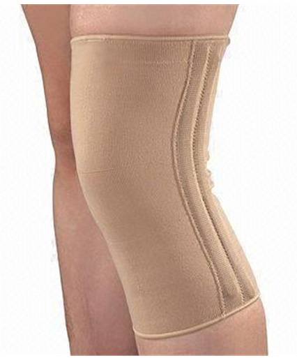 Knee Support with Spring (พยุงเข่าเสริมแกนสปริง) Size L (15-16 นิ้ว)