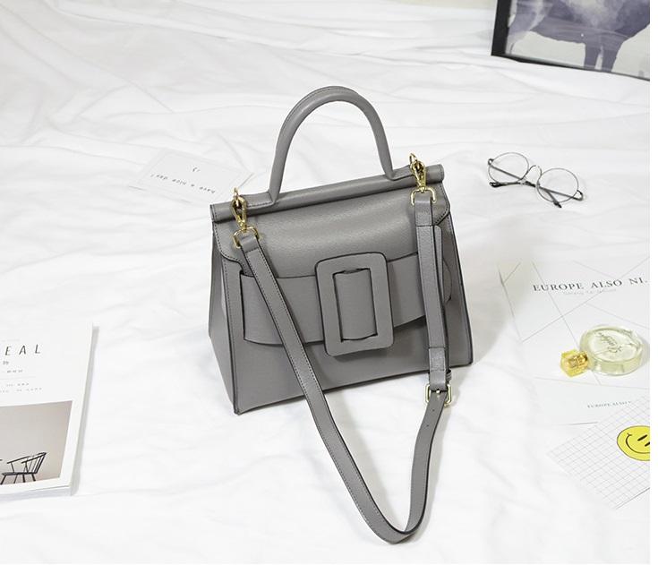 กระเป๋าหนังวัว Boyy karl bags (Baby Gray)