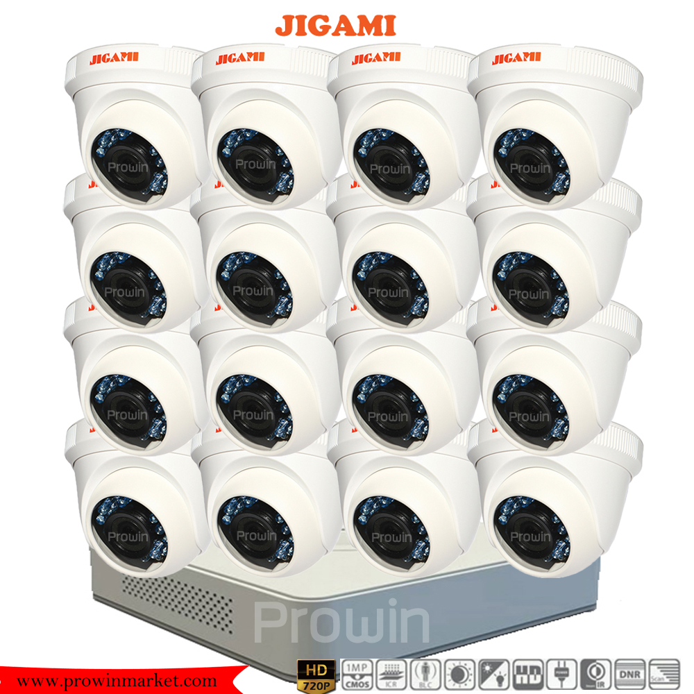 JIGAMI (( Camera+DVR set16 )) D56C0TIRP x16 7116HGHI-E1 x1