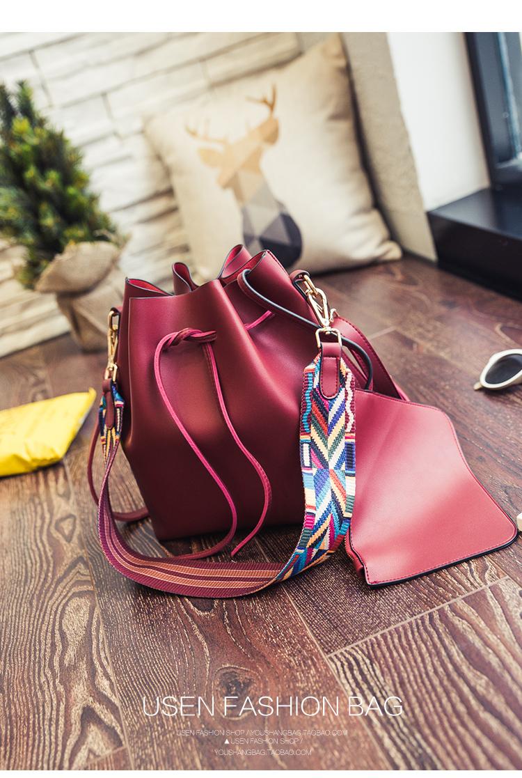 กระเป๋าหนัง PU รุ่น Amari Red