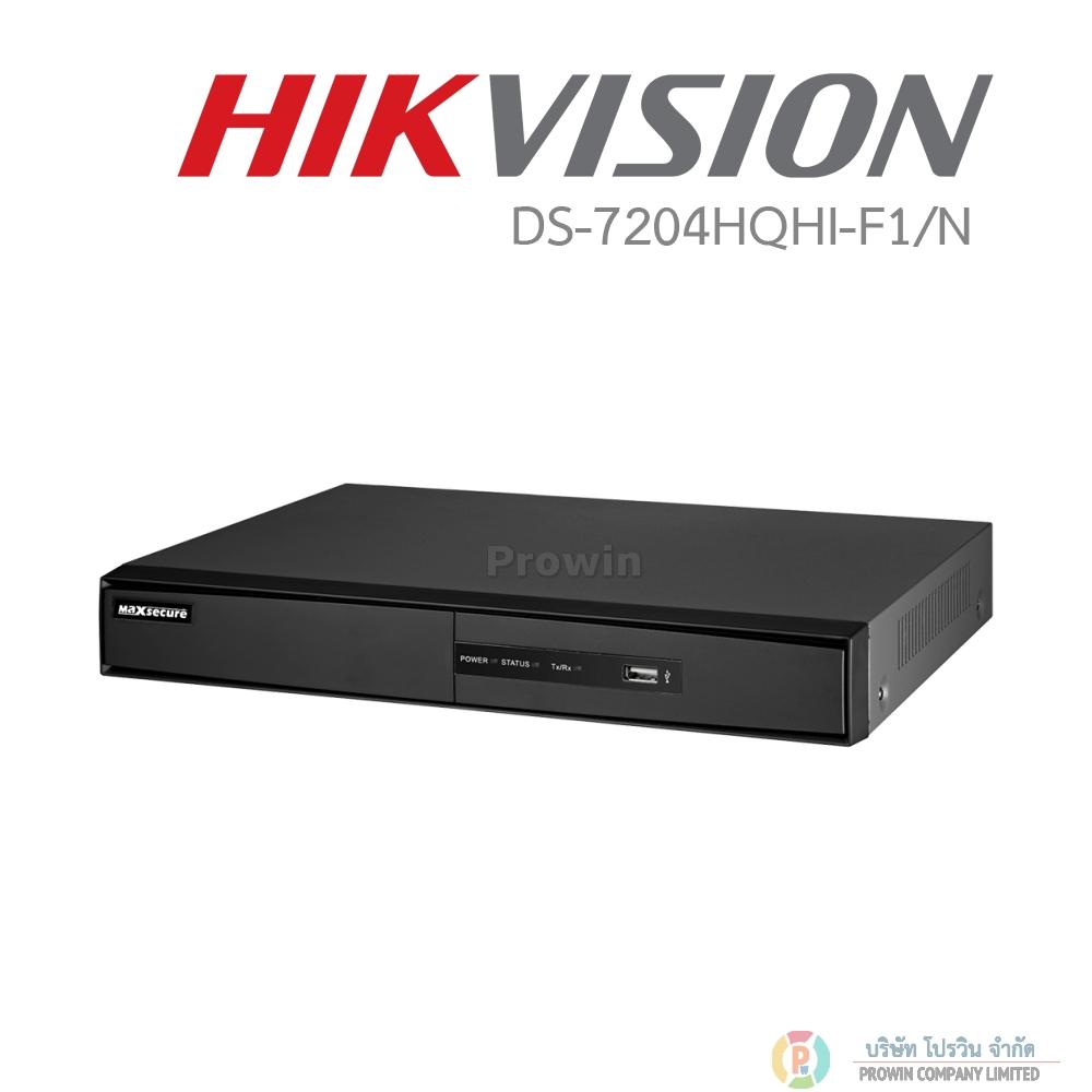 HIKVISION DS-7204HQHI-F1/N