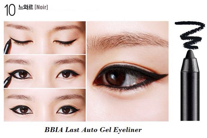 ++พร้อมส่ง++BBIA Last Auto Gel Eyeliner 0.5g สี ดำ (noir) อายไลน์เนอร์เนื้อเจล เขียนง่าย เส้นคมสวย แห้งเร็ว กันน้ำ ติดทนนาน