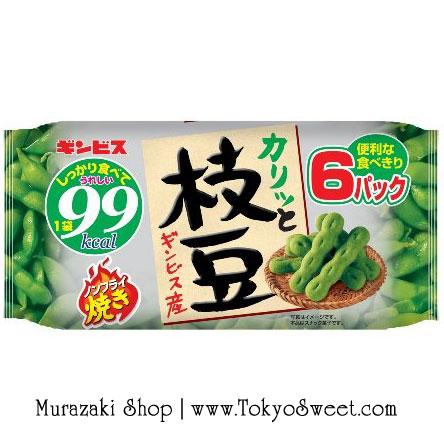 พร้อมส่ง ** Karitto Edamame non-fried ขนมถั่วแระญี่ปุ่นอบกรอบ หอม อร่อย ไม่ทอด ไม่มีน้ำมัน 1 ห่อย่อยให้พลังงานแค่ 99 kcal (บรรจุ 120 กรัม (6 ห่อย่อย ห่อละ 20 กรัม))