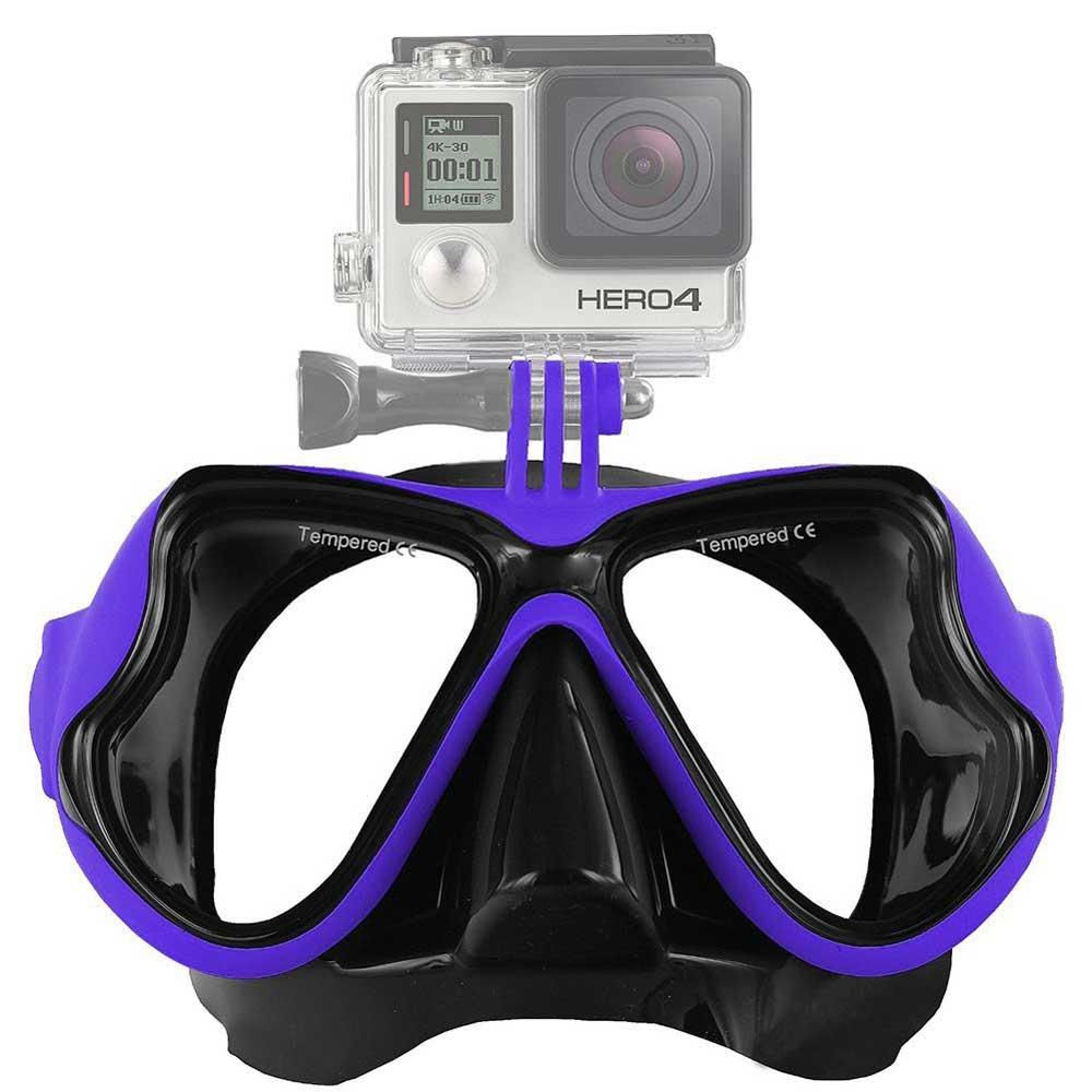 หน้ากากดำน้ำ Freewell Diving Mask 1403 [น้ำเงิน] (Sea Travel)