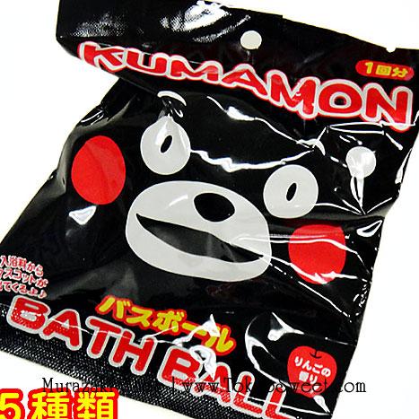 พร้อมส่ง ** Kumamon Bath Ball ลูกบอลกลิ่นหอม ใช้โยนลงอ่างอาบน้ำเพื่อให้อ่างอาบน้ำมีกลิ่นอโรม่าหอมๆ เมื่อละลายหมดแล้วจะมีตัวมาสคอตออกมา มีทั้งหมด 5 แบบ (สินค้าเป็นแบบสุ่ม) ให้คุณหนูๆ ได้สนุกสนานกับการอาบน้ำ