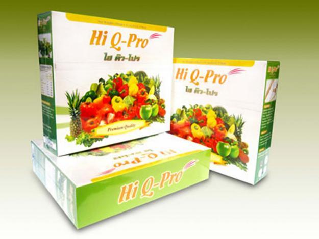 ไฮคิว โปร (HI Q-PRO) ดีท้อก ลดพุง ล้างลำไส้ จะทำให้กลิ่นตัว กลิ่นปาก สิวฝ้า มีหน้าท้อง ลงพุง ท้องผูก
