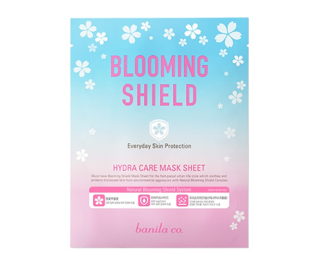 ++พร้อมส่ง++Banila co Blooming Shield Hydra Care Mask Sheet 20g