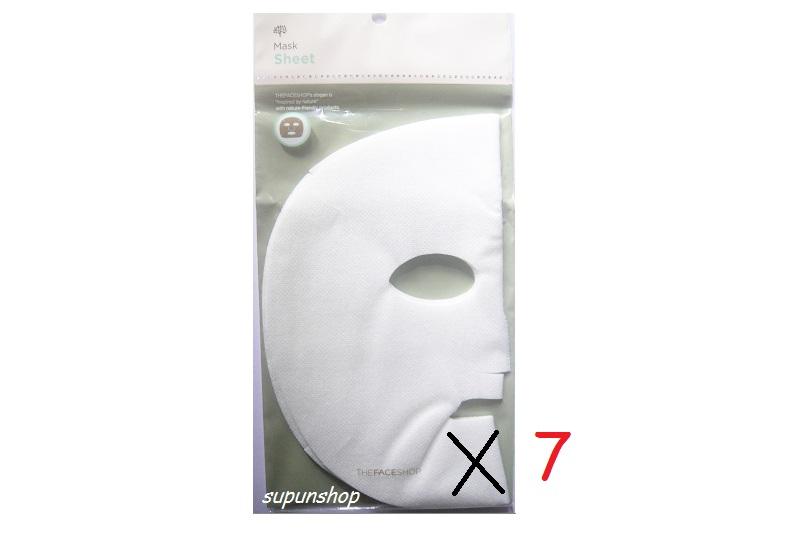 ++พร้อมส่ง++The Face Shop Daily Beauty Tools Mask Sheet - 7 แผ่น ทำจากเส้นใย cotton+rayon
