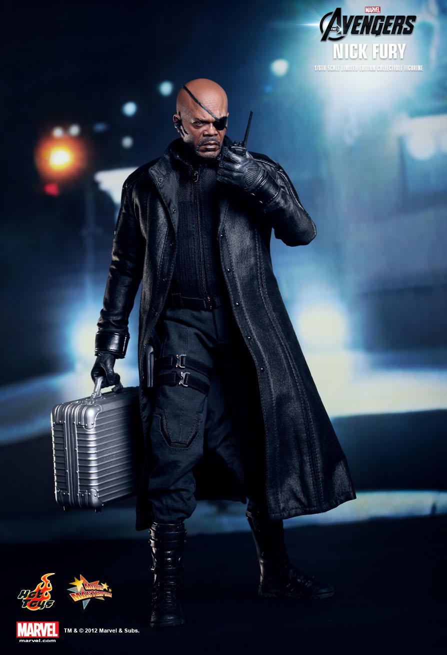 Hot Toys MMS169 THE AVENGERS - NICK FURY