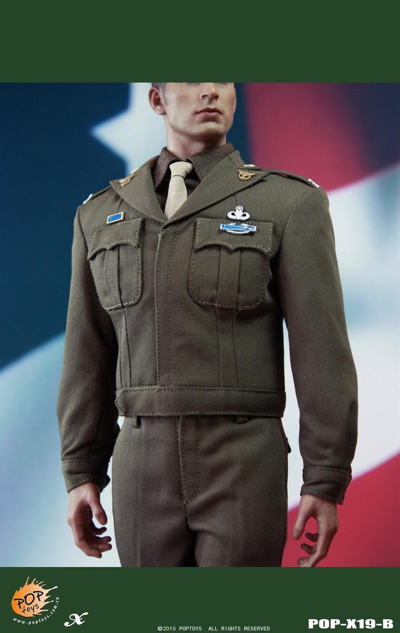 POPTOYS X19B ชุดทหารกัปตันอเมริกา