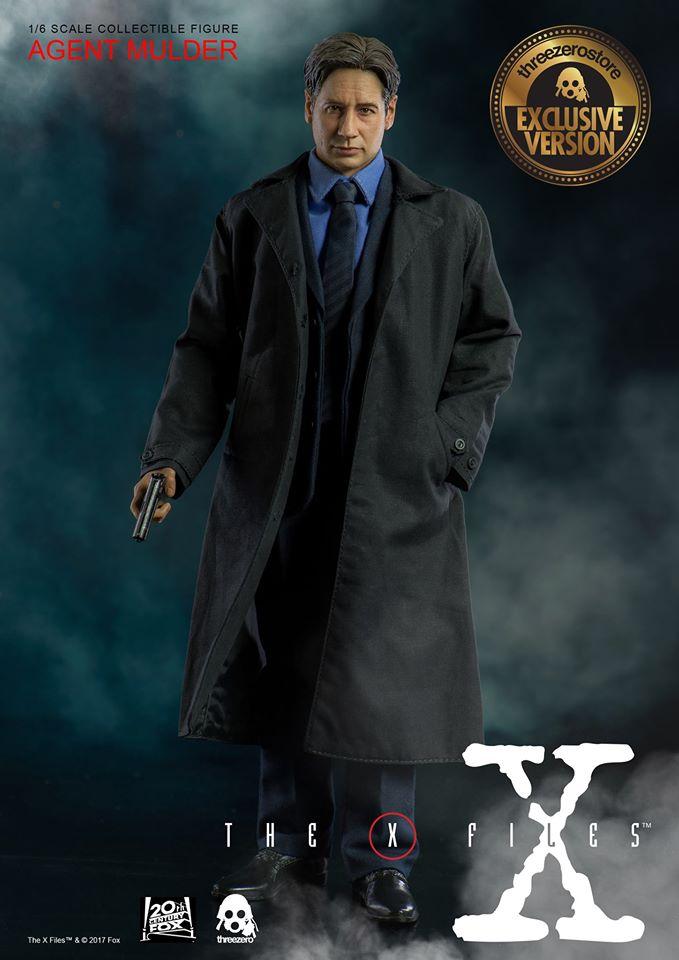 ThreeZero 3Z0024 1/6 The X Files - Agent Mulder (Exclusive Version)