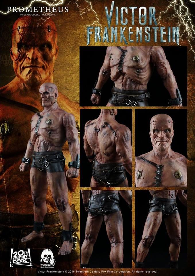 Threezero Victor Frankenstein - Prometheus collectible
