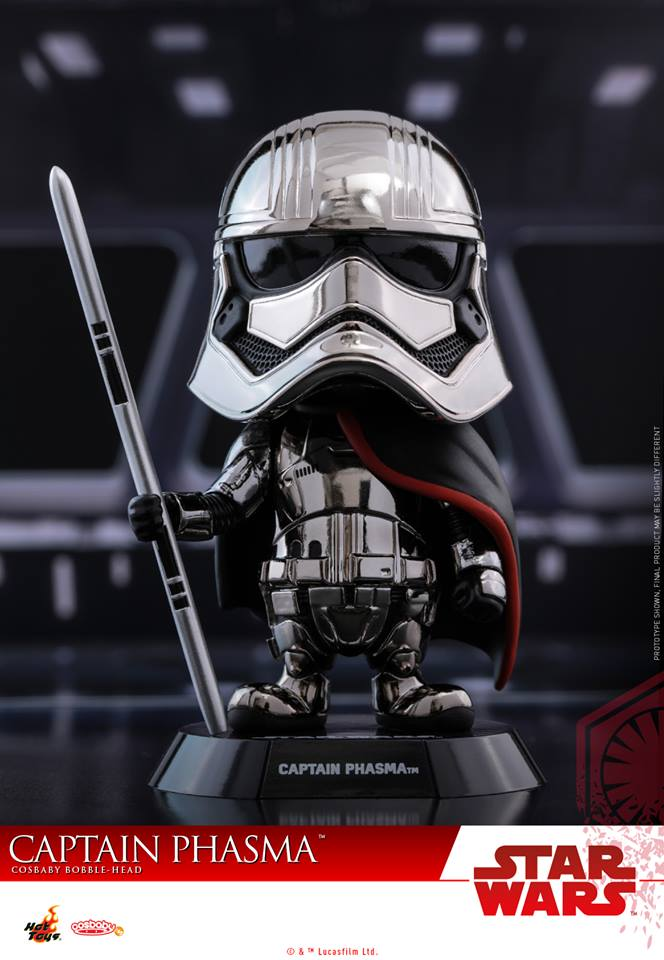Hot Toys COSB410 Captain Phasma (Metallic Color Version)
