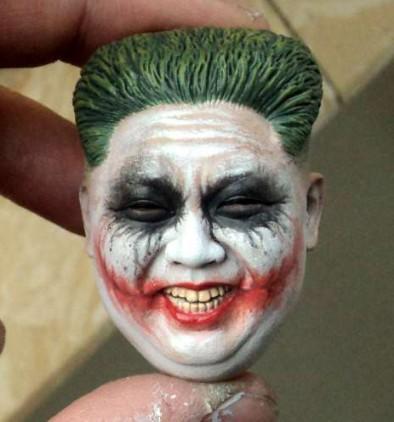 Nater Bear Toys 1/6 Joker Kim Headsculpt