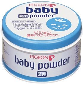 **พร้อมส่ง**Pigeon Medicated Baby Powder 150 g. กระปุกฟ้า แป้งเด็กพีเจ้นสามารถป้องกันผดผื่นและปกป้องผิวได้อย่าง อ่อนโยน ใช้ร่วมกับพัฟทาแป้งพีเจ้น ทาหลังอาบน้ำ หรือหลังจากการเปลี่ยนผ้าอ้อม แป้งเด็กพีเจ้นผ่านการทดสอบด้านการแพ้และระคายเคืองต่อผิวหนังแล้ว ,