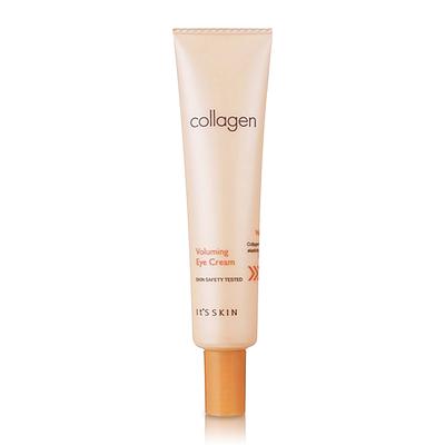 **พร้อมส่ง**It's Skin Collagen Voluming Eye Cream 25ml ผลิตภัณฑ์บำรุงงผิวรอบดวงตา ให้อ่อนเยาว์ เติมเต็มคอลลาเจนสู่ผิว ริ้วรอยตื้นขึ้น ผิวกระชับเรียบเนียน ผิวนุ่มชุ่มชื้น ,