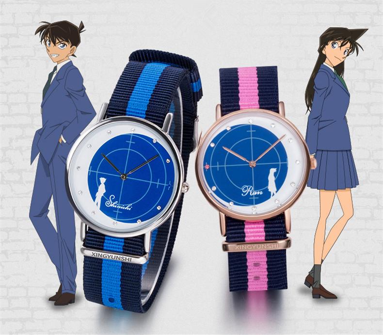 นาฬิกาข้อมือคู่รักโคนัน