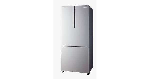 Panasonic ตู้เย็น 2 ประตูขนาด 13.1 คิว รุ่น NR-BX418V-S สี SHINING SILVER