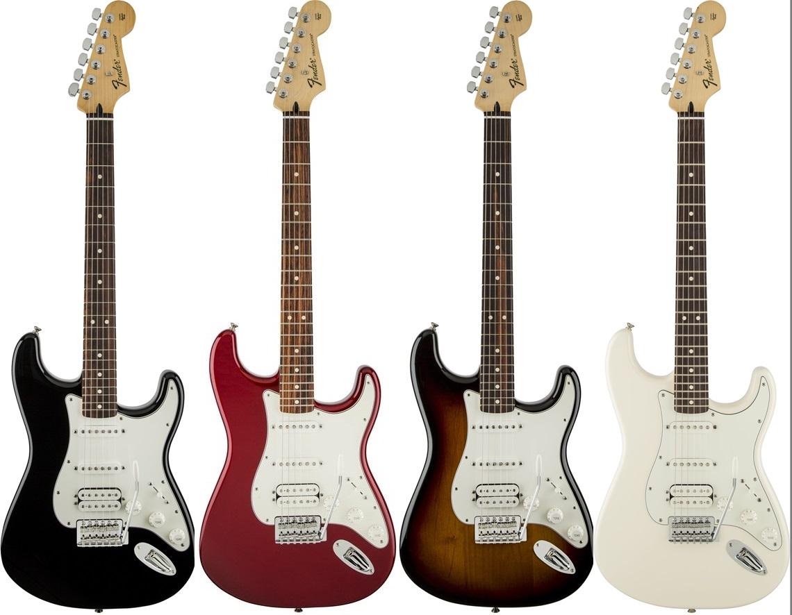 Standard Stratocaster HSS 2016