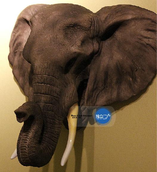 หัวช้างเรซิ่น