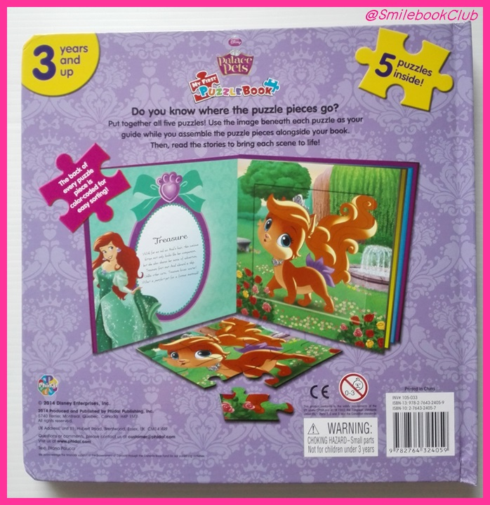 Palace Pet : 5 Puzzles inside! – Disney