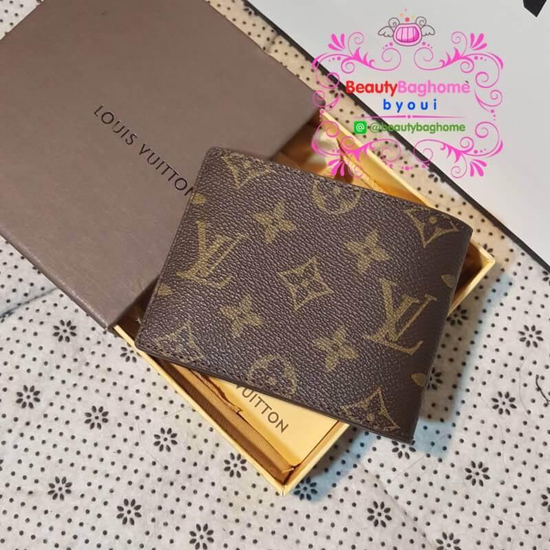 Louis Vuitton Multiple Wallet Monogram งานHiend1:1