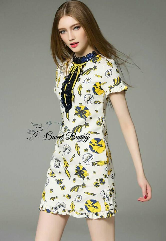 Sweet Bunny Present... Gucci Star War Mini Dress