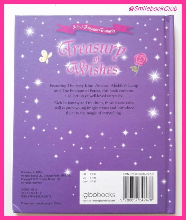 Treasury of Wishes (3-in-1 Fairytale Treasuries)