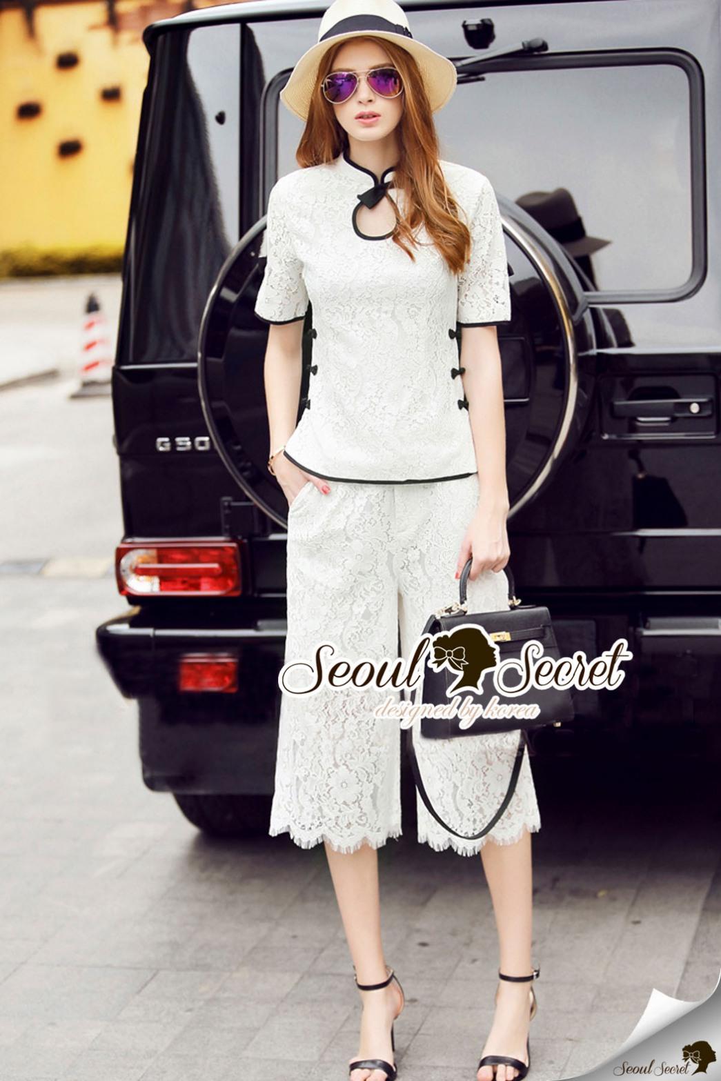 Seoul Secret Say's... Lollita Bowy Princess Lace Set