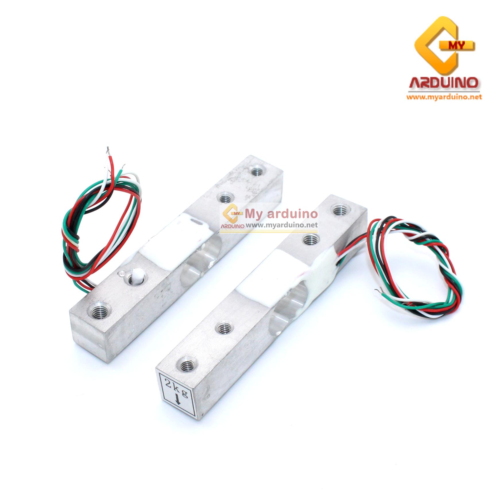 Load Cell Weight Sensor 2 Kg เซนเซอร์วัดน้ำหนัก Load Cell วัดได้สูงสุด 2KG