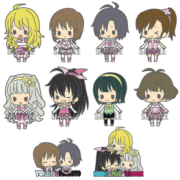 es Series nino Rubber Strap Collection - THE IDOLM@STER stage2 Renewal ver. 10Pack BOX(Pre-order)