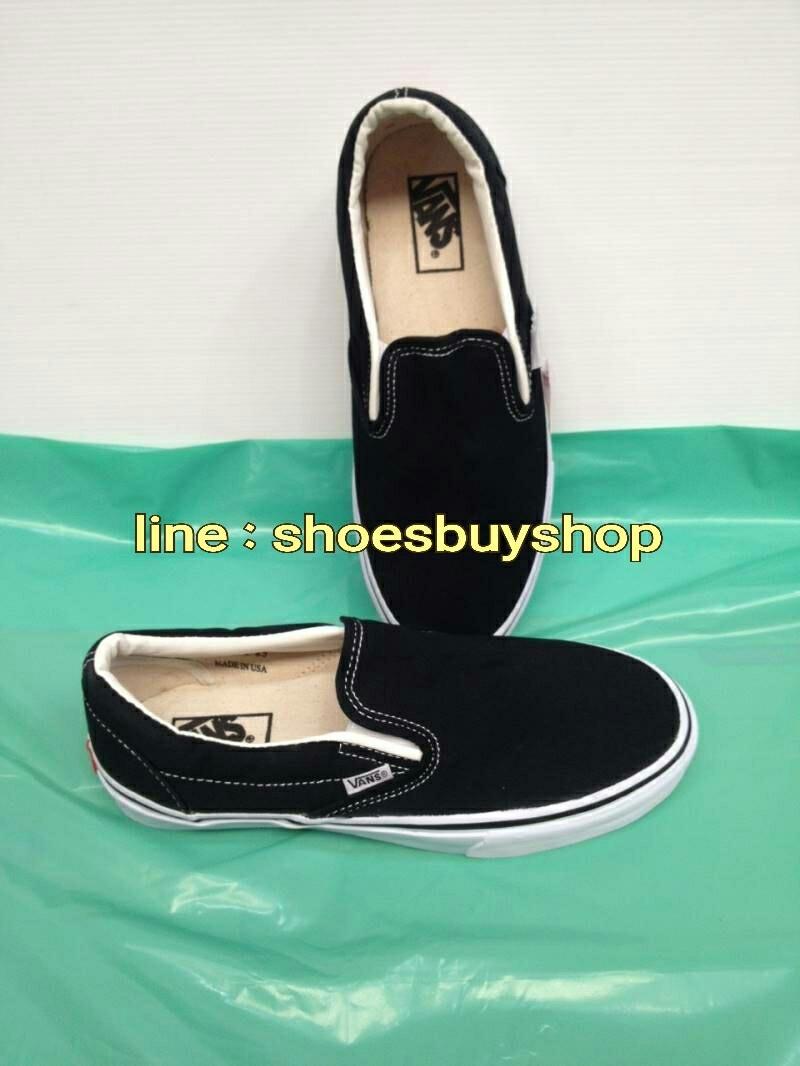 รองเท้า Vans Slip on สีดำ