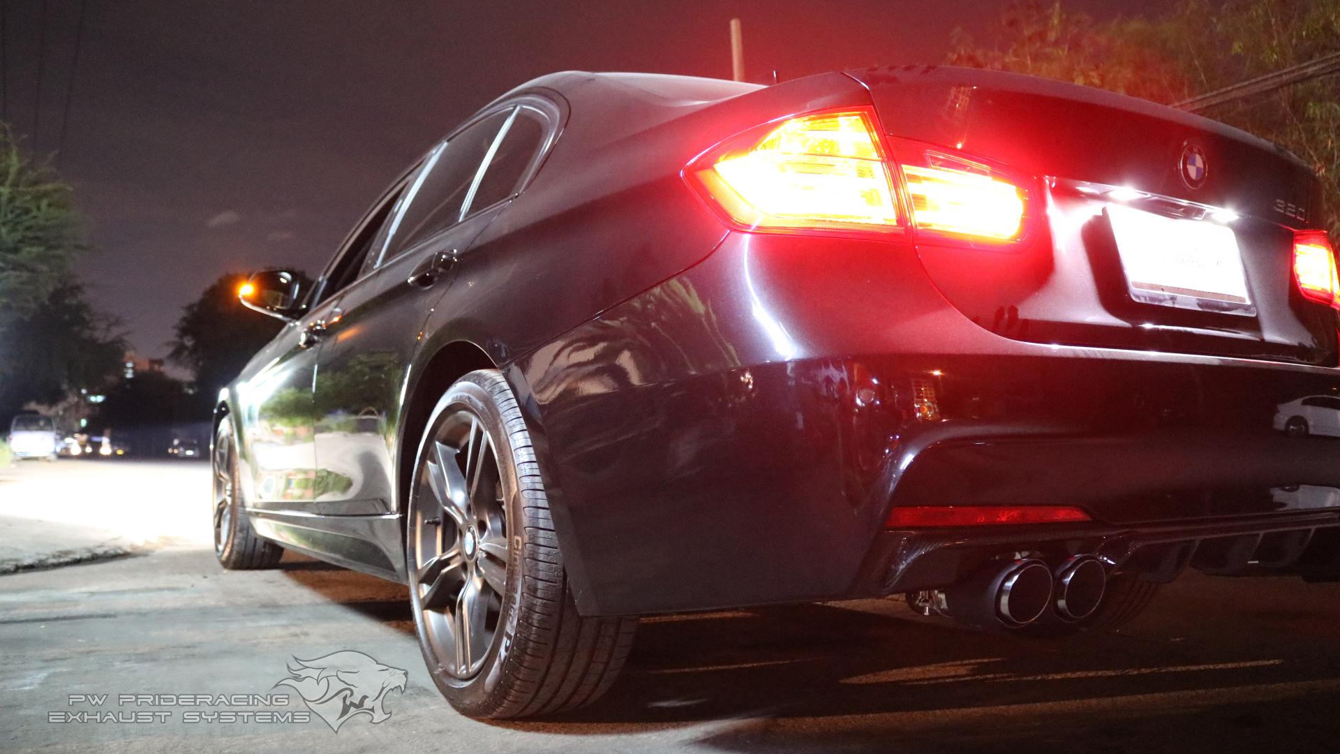 ชุดท่อไอเสีย BMW F30 320i Custom-made by PW PrideRacing