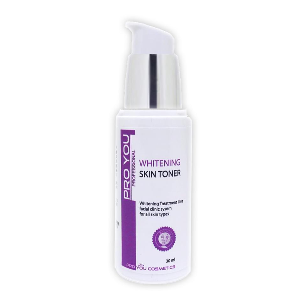 Proyou Whitening Skin Toner 30ml (โทนเนอร์น้ำตบ มีประสิทธิภาพในการปรับผิวให้ขาวกระจ่างใสขึ้น และเพิ่มความชุมชื่นให้แก่ผิว)