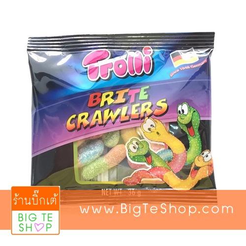 Trolli Brite Crawlers ทรอลลี่ บริตครอเลอร์ กลิ่นผลไม้รวม