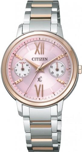 นาฬิกาข้อมือผู้หญิง Citizen Eco-Drive รุ่น FD1014-52X, Duratect Sapphire Japan Elegant