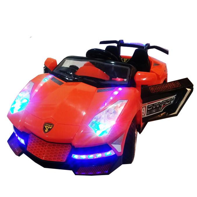 รถแบตเตอรี่เด็กขับ แลมโบกินี่ พร้อมรีโมท Lamborghini ล้อยาง 2 มอเตอร์