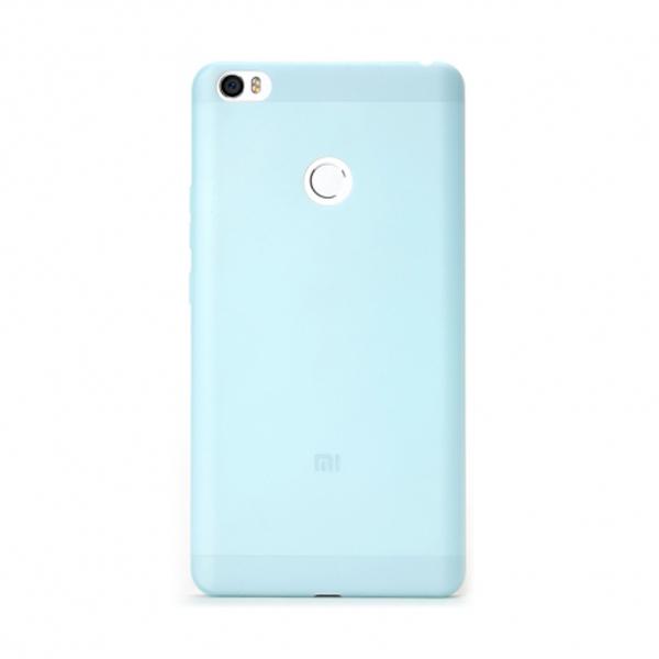 เคส Xiaomi Mi Max Silicone Protective Case สีฟ้า