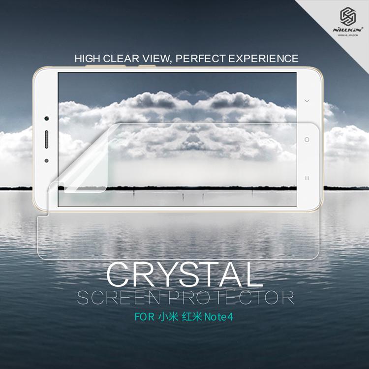 ฟิล์มกันรอยใส Nillkin Super Clear สำหรับ Xiaomi Redmi Note 4 / 4X