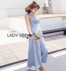 Lady Ribbon Closet Blue Jumpsuit