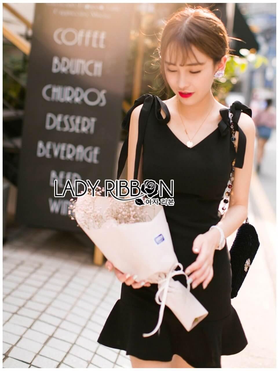 &#x1F380 Lady Ribbon's Made &#x1F380 Lady Eva Sweet and Sexy Ribbon Cocktail Dress