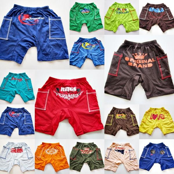 ขายส่งกางเกงสไตล์อเมริกัน (แพค 10 ตัว) ลายเปลี่ยนตามรอบการผลิต