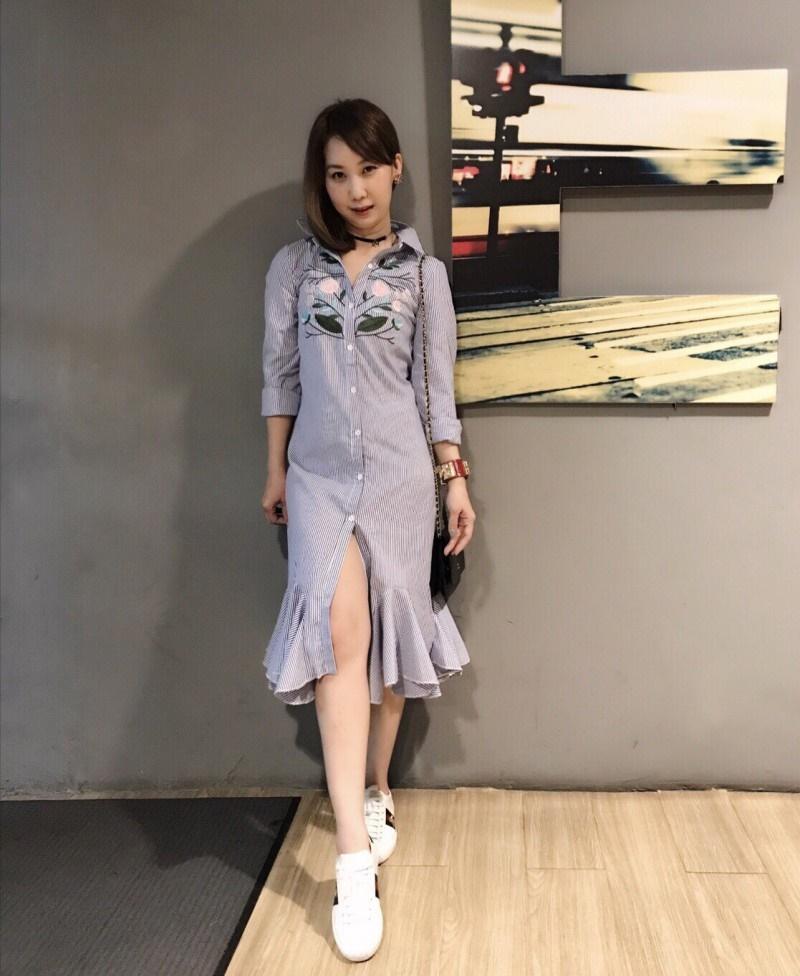 เสื้อผ้าแฟชั่นเกาหลี Lady Ribbon Thailand Normal Ally Present Embroider Secret gardens new S.P brand collection